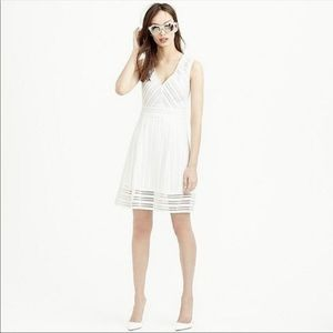 J.Crew White Eyelet Dress Sz 6 (F16)